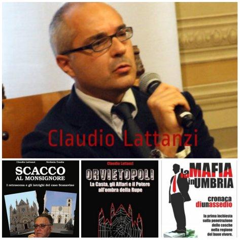 Claudio Lattanzi: autore di molte inchieste sul malaffare nel territorio Orvietano