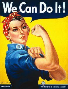 Rosie nella propaganda bellica per il lavoro femminile