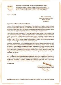 lettera al sindaco di orvieto gestione tributi intra moenia
