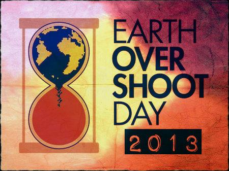 Overshoot day 2013