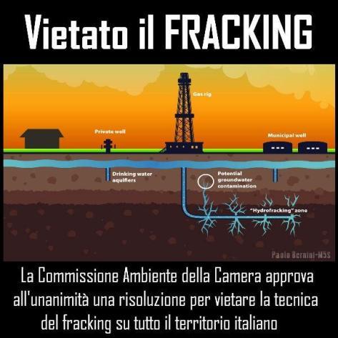 frackling vietato