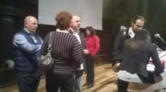 Si sale sul palco della Sala dei Notari (Perugia)