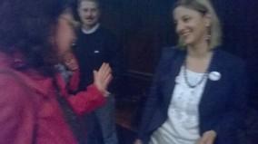 Con Roberta Lombardi (Portavoce alla Camera dei Deputati)