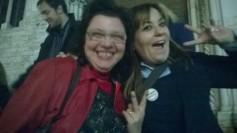 Lucia Vergaglia (Candidato Sindaco Orvieto) e Laura Agea (Portavoce al Parlamento Europeo)