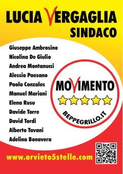M5S: Elezioni Amministrative Orvieto