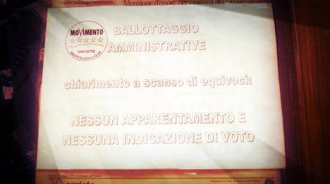 chiarimento ballottaggi