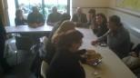 Pranzo con gli eurocandidati