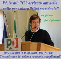 Il Democratico Civati Eterodiretto