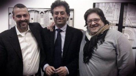 Giuseppe Germani (al centro)
