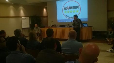 Lucia Vergaglia (M5S Orvieto) conclude l'incontro salutando i nuovi consiglieri