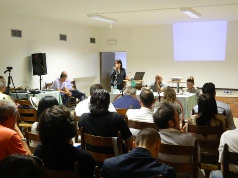 Lucia Vergaglia (M5S Orvieto): presentazione dello strumento #Ideario #umbria5stelle per la raccolta idee di programma per #umbria2015 (Deruta, 21 settembre 2014)