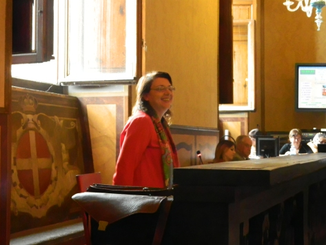 La gioia della Consigliera Vergaglia (M5S) per l'impegno di Sindaco e Giunta ad #AbolirEquitalia.