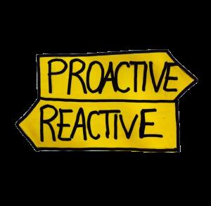 proattività vs reattività