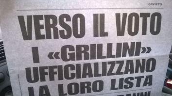 """Lista """"Grillina""""... vabbè."""