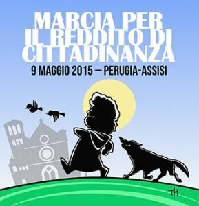 Marcia Perugia Assisi Reddito di Cittadinanza
