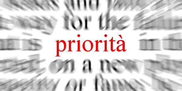 Le priorità per Orvieto 2019