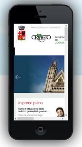 test sito comune orvieto primo giorno iphone