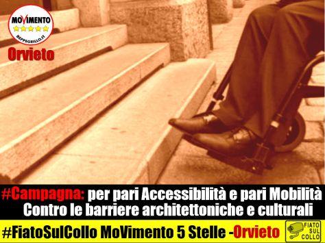 campagna contro le barriere architettoniche e culturali