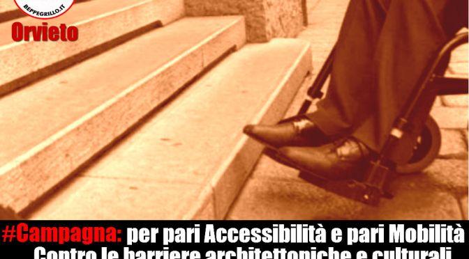 Disabili: Campagna per l'accessibilità e la mobilità