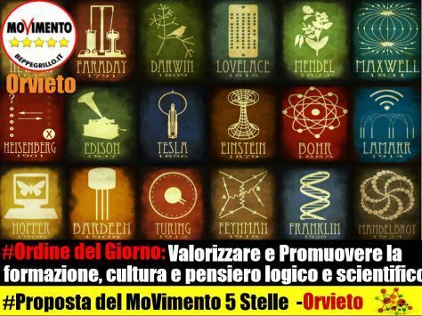 Splash M5S odg scienza