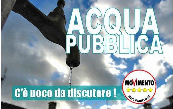 LA LEGGE SULL'ACQUA PUBBLICA