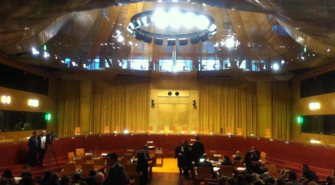 Lucia Vergaglia alla Corte Europea di Giustizia