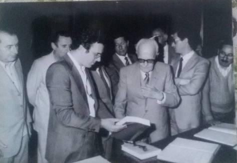 Sandro Pertini in Visita ad Orvieto