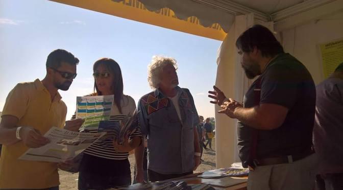 Cartolina da Italia 5 Stelle Rimini 2017