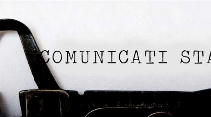 """Che noia le battaglia di """"comunicati"""" ed opinioni."""