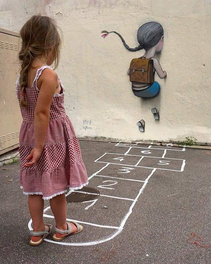 Street art. Occasione persa