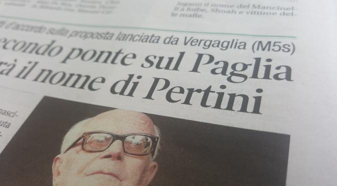 """Anniversario """"pertiniano""""."""