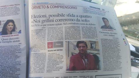 Sfida elettorale ad Orvieto: parla Lucia Vergagli