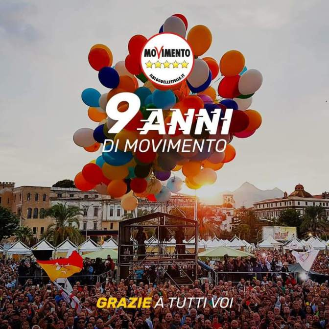 9 anni in Movimento