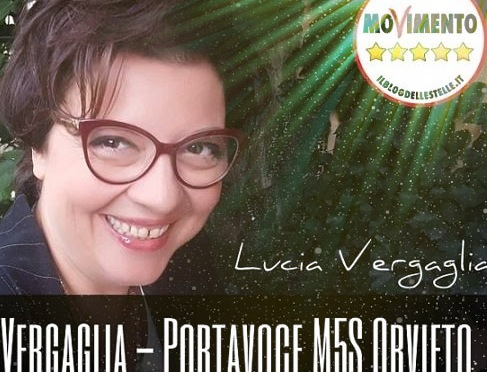 Lucia Vergaglia in lizza per Umbria 2019