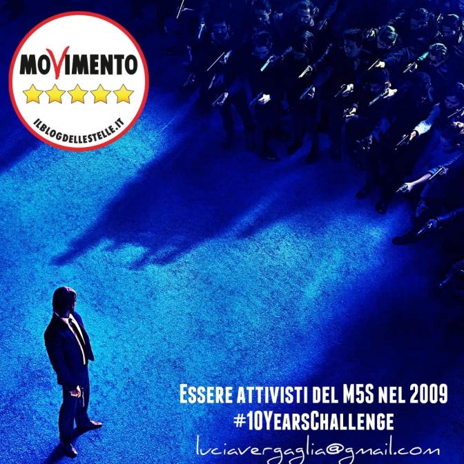 Attivismo M5S: 10yearschallenge