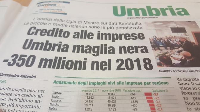 Orvieto e l'Umbria senza credito