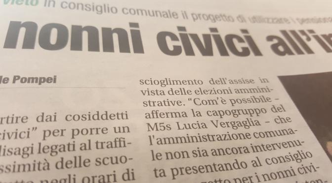 Orvieto: civismo fermo con le quattro frecce.