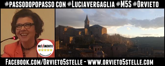 Marzo 2019. Lucia Vergaglia M5S Orvieto presiede la II Commissione
