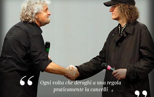 Trasparenza. Lista M5S Orvieto, Umbria, Vergaglia e comunicazioni con lo staff