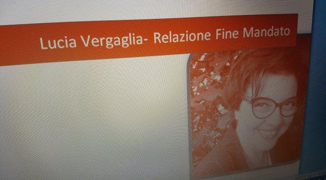 M5S Orvieto, Umbria. Relazione di fine mandato di Lucia Vergaglia.