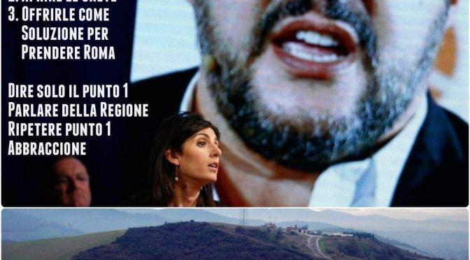 Salvini ad Orvieto conferma la strategia inceneritori
