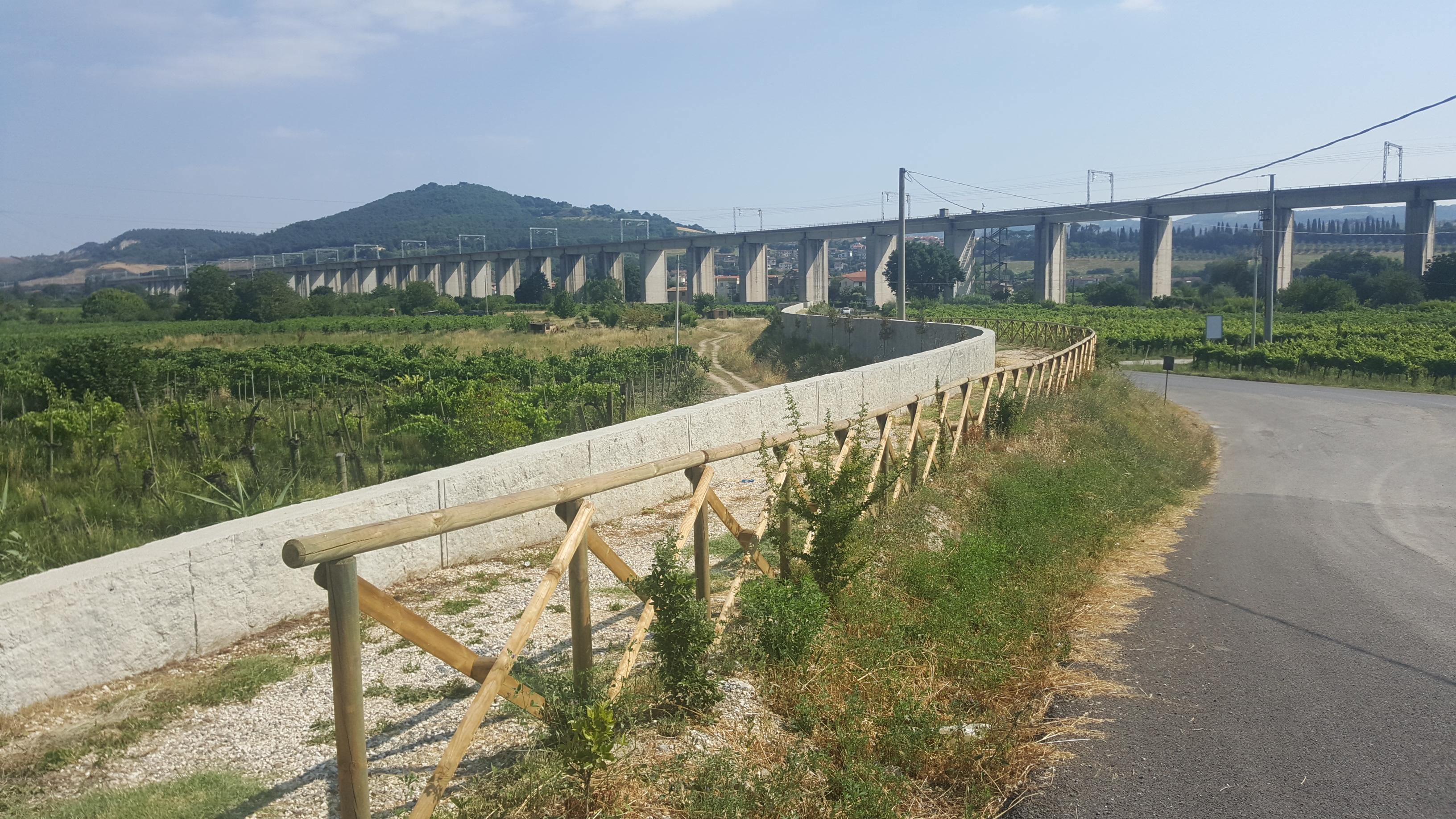 Opere difensive lungo il fiume Paglia duramente contestate da parte della popolazione di Allerona