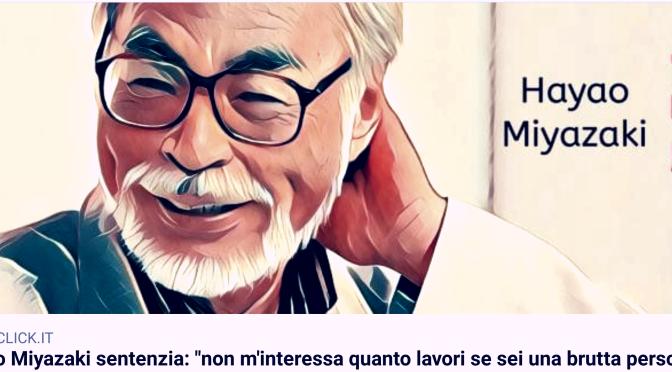 Meetup orvieto. Imparare la lezione di Miyazaki