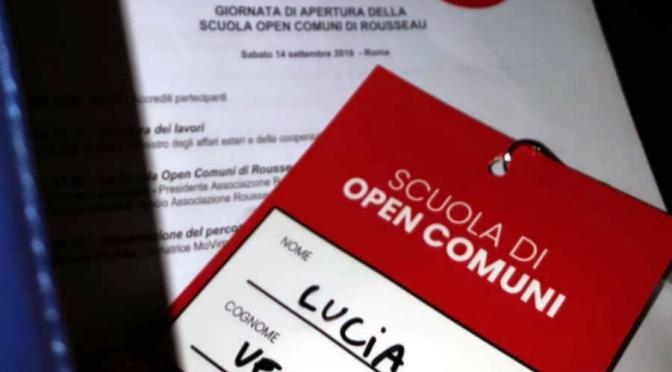 Scuola #OpenComuni. Noi ci siamo.