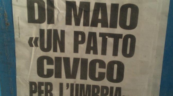 Luigi Di Maio parla dell'Umbria